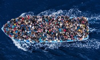African migrants on their way to Europe