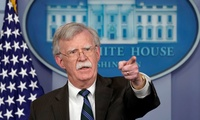 National Security Adviser, John Bolton