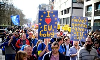 London Brexit pro-EU protest March 25 2017
