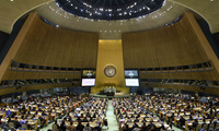 View of General Assembly at UN Global Engagement Summit