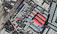 The nuclear archive warehouse outside Tehran (Satellite image via Google).