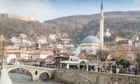 Old stone bridge of Prizren, Kosovo