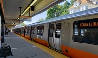 new MBTA Orange Line car produced by CRRC