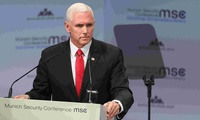 U.S. Vice President Mike Pence spoke about ISIS, the Iran Nuclear Deal and NATO at the 2019 Munich Security Conference.
