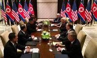 Meeting between U.S. and North Korean delegations