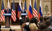 Joint press conference of Russian President Vladimir Putin and U.S. President Donald Trump