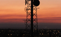 "A cell tower over Perth, Australia, January 4, 2014. (Flickr User ""Shari"" / CC BY-NC-ND 2.0)"