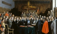 Painting of the Treaty of Munster