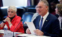Interior Secretary Ryan Zinke testifies